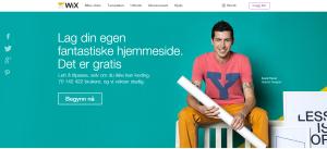 Wix hjemmeside